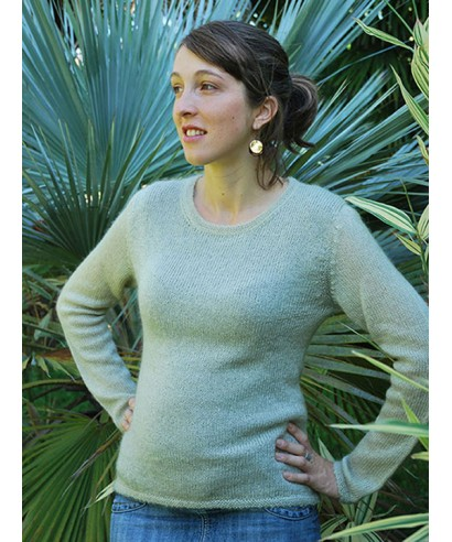 Pull femme - col rond